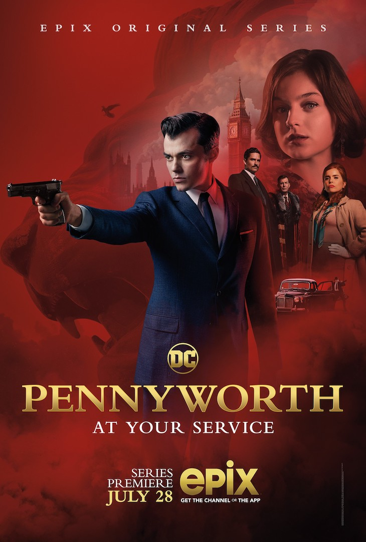 Key art for Epix' 'Pennyworth'