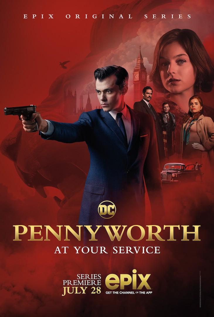 Key art for Epix' 'Pennyworth'