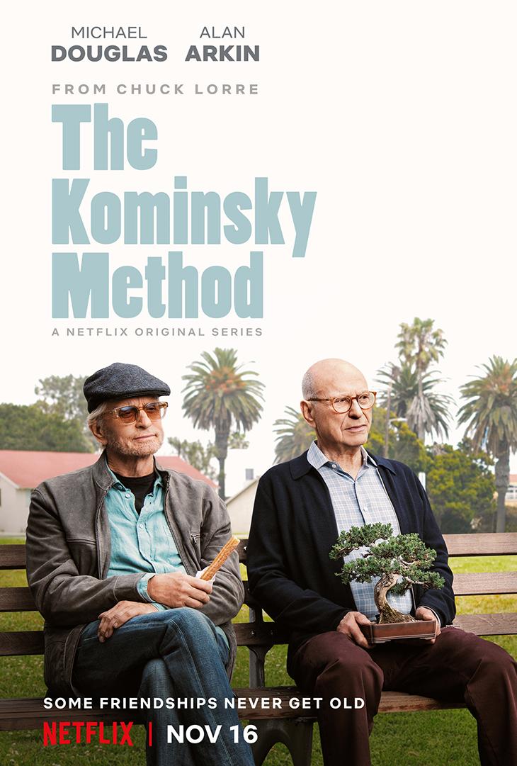 """""""The Kominsky Method"""" key art. [Netflix]"""