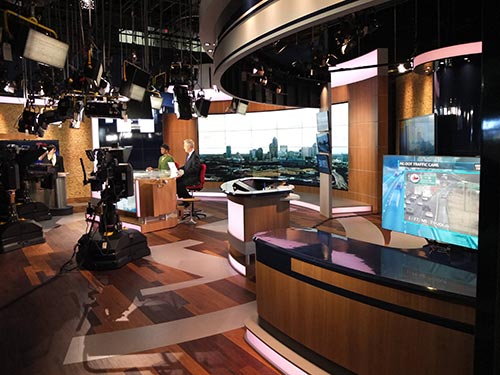 WBTV Charlotte Debuts New Hybrid Set| Promax Brief