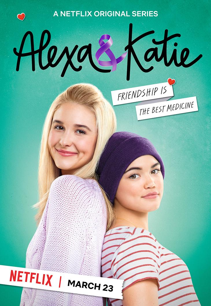 """""""Alexa & Katie"""" key art. [Netflix]"""