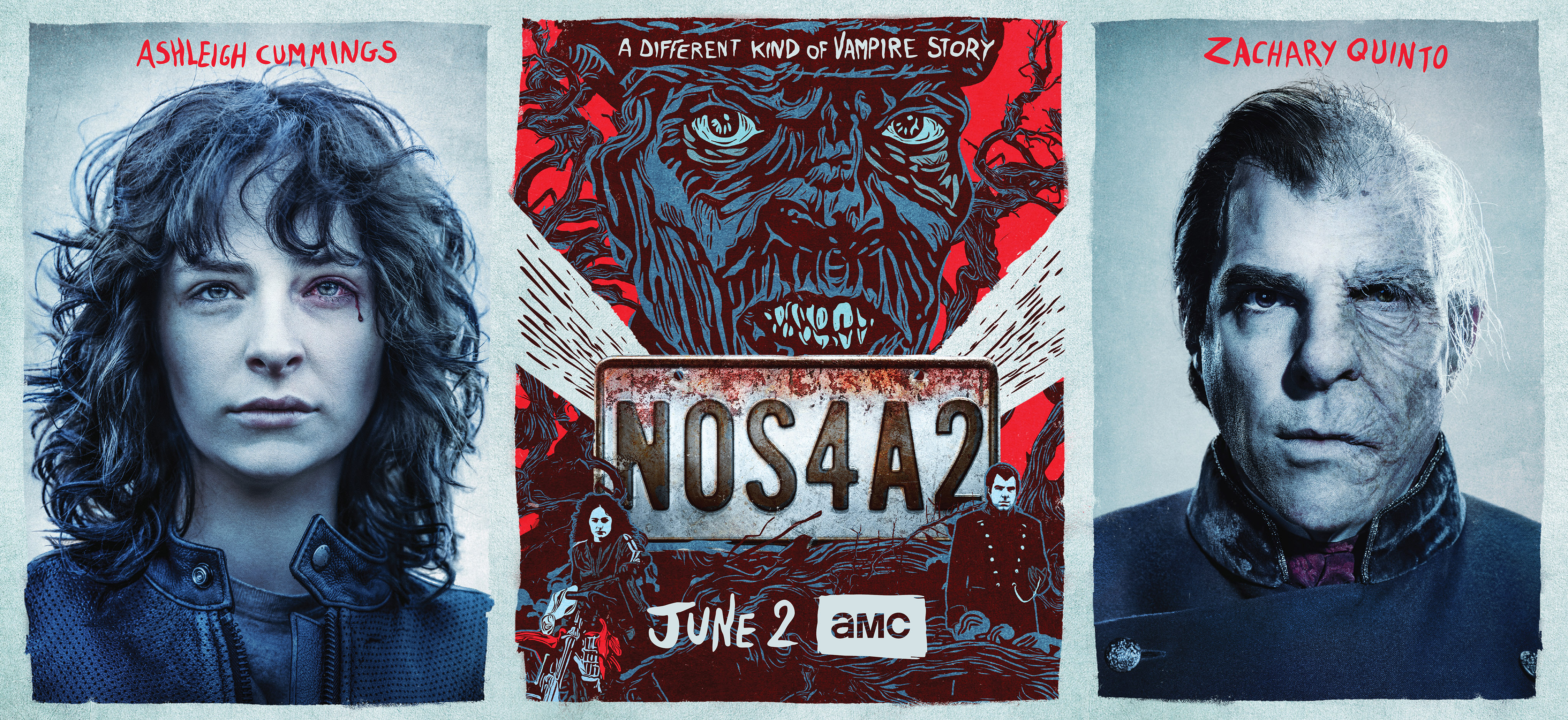 'NOS4A2' key art. [AMC]