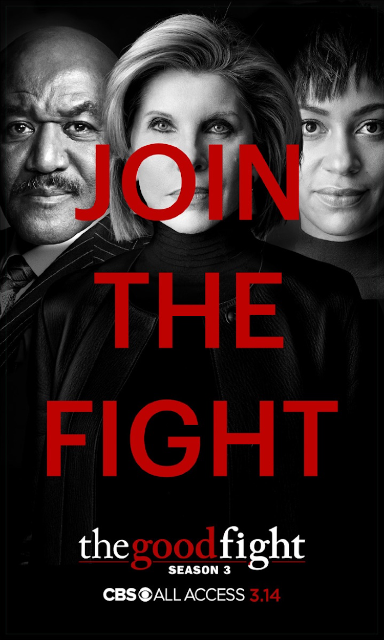 Key art for season 3 of CBS All Access' 'The Good Fight'