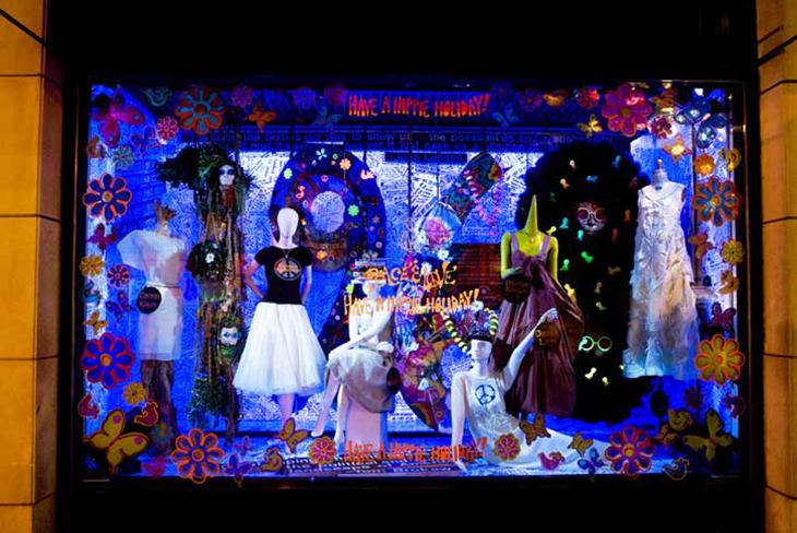 """""""Peace and Love,"""" Barneys NY 2008"""