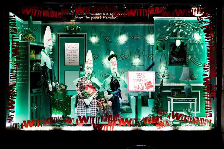 """""""Saturday Night Live,"""" Barneys, NY, Holiday 2009"""