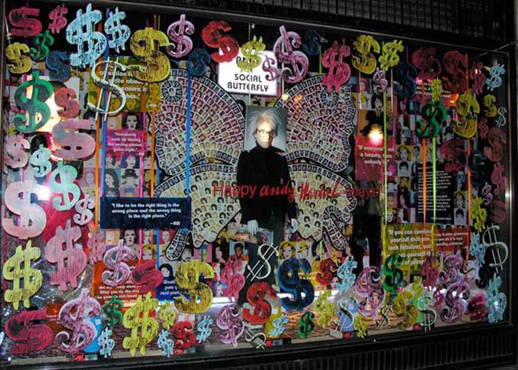 """""""Warholiday,"""" Barneys NY 2006 [simondoonan.com]"""