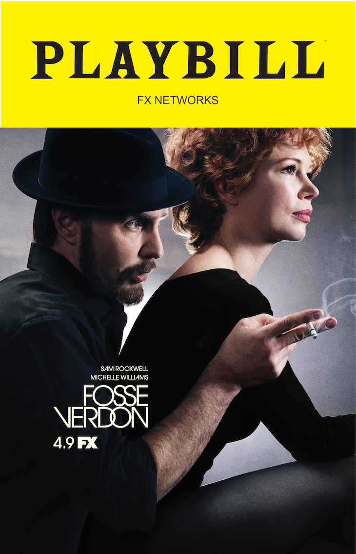 'Fosse/Verson' Playbill cover