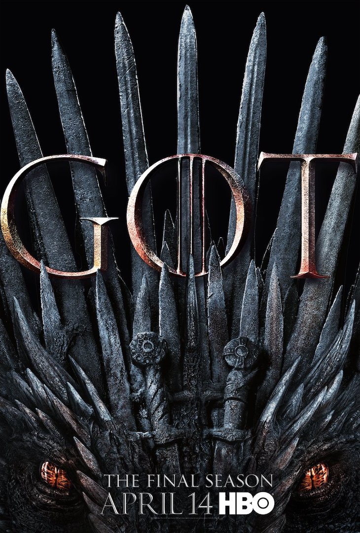 Season 8 key art for 'Game of Thrones'