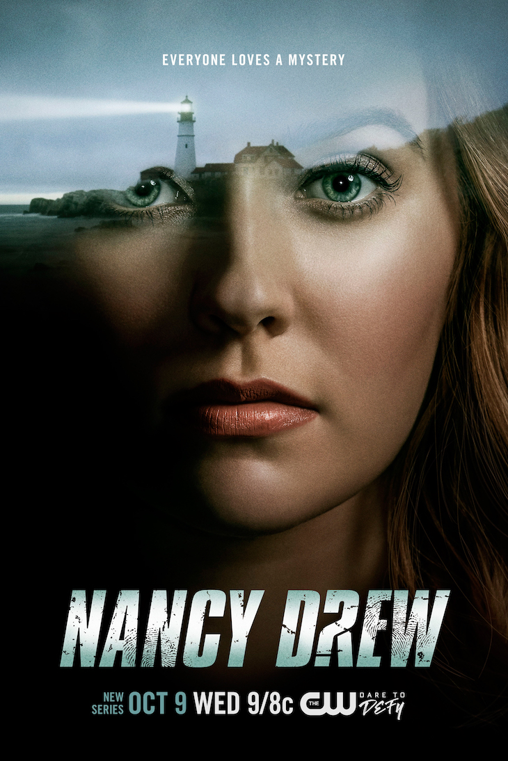 Key art for The CW's upcoming 'Nancy Drew'