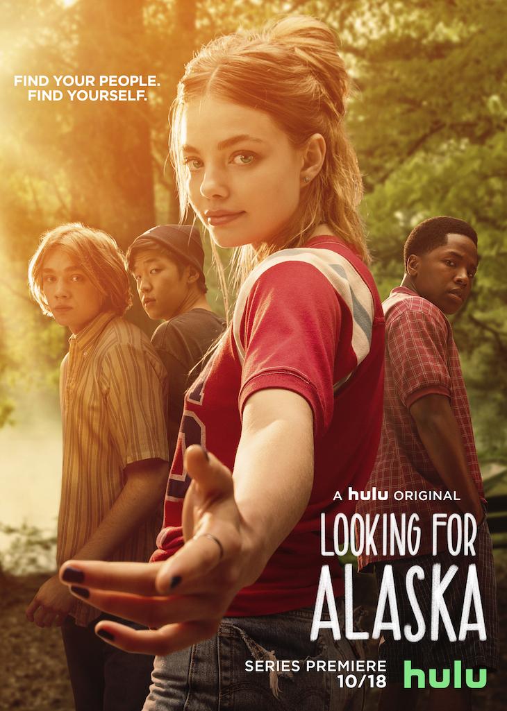 Key art for Hulu's 'Looking for Alaska'