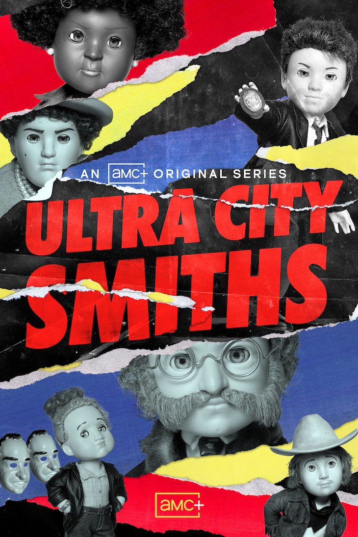 Key art for AMC Plus' new stop-motion animated series 'Ultra City Smiths'