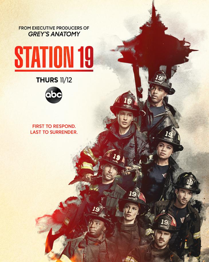 Key art for season four of ABC's 'Station 19'