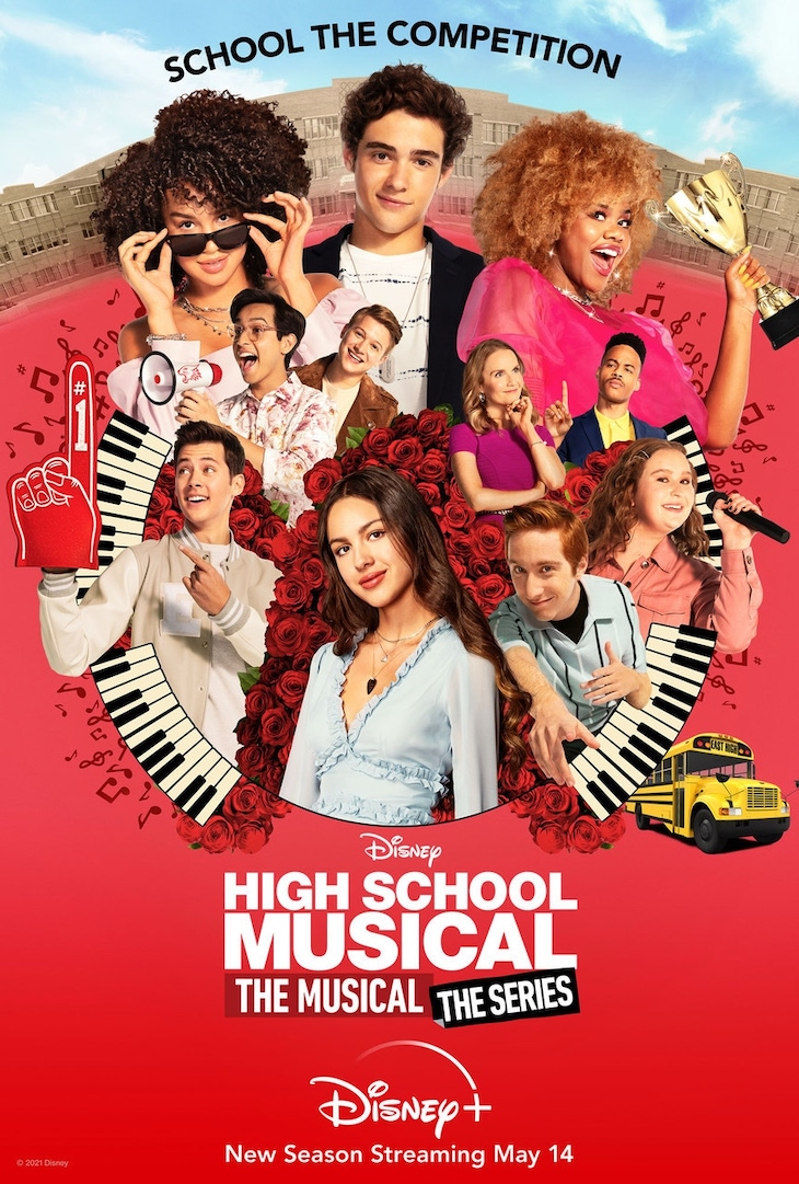 Key art for season two of Disney Channel's 'High School Musical: The Musical: The Series'