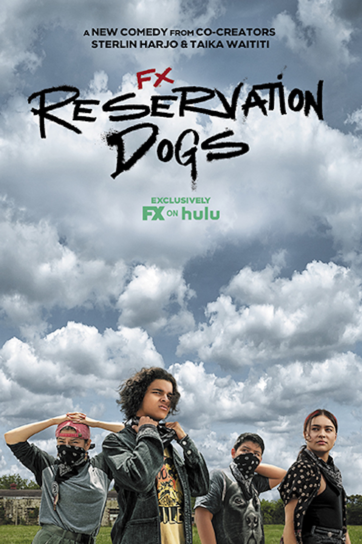 Key art for FX's 'Reservation Dogs,' from Taika Waititi.