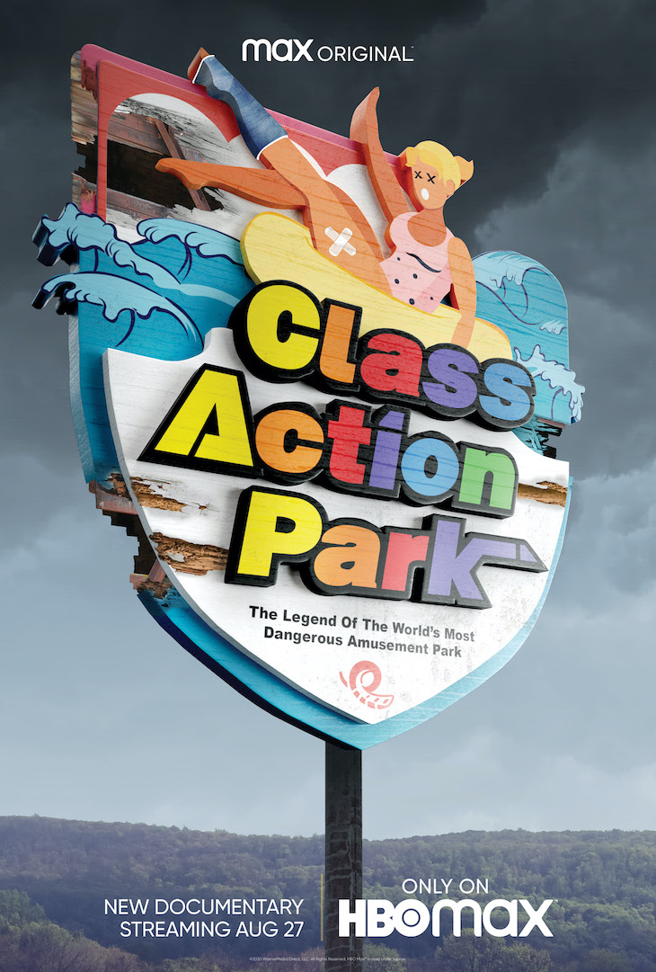 Key art for HBO Max's new documentary 'Class Action Park'