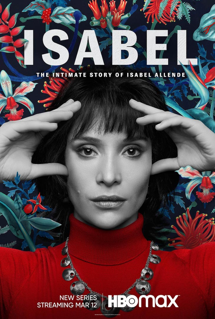 Key art for HBO Max's limited series 'Isabel,' based on life of best-selling author Isabel Allende