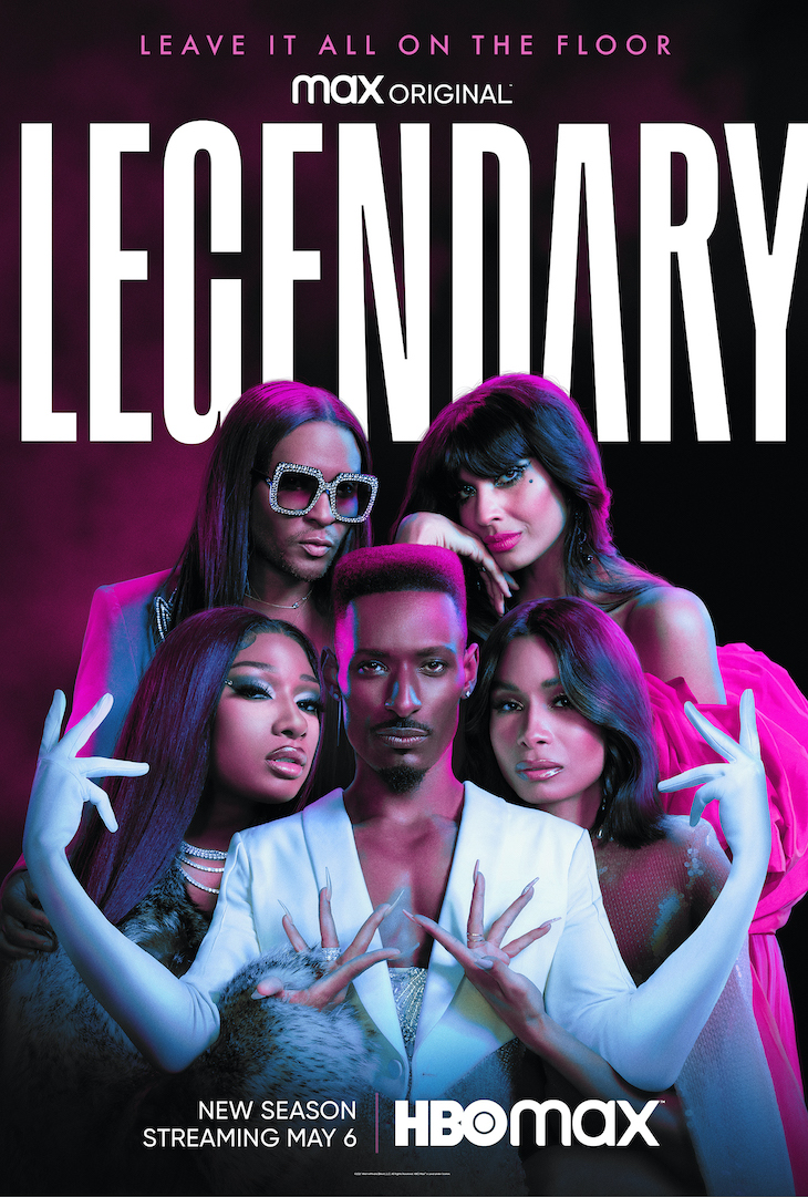 Key art for season 2 of HBO Max's ballroom competition series 'Legendary.'