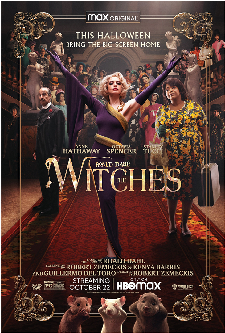 Poster for HBO Max's movie 'The Witches'