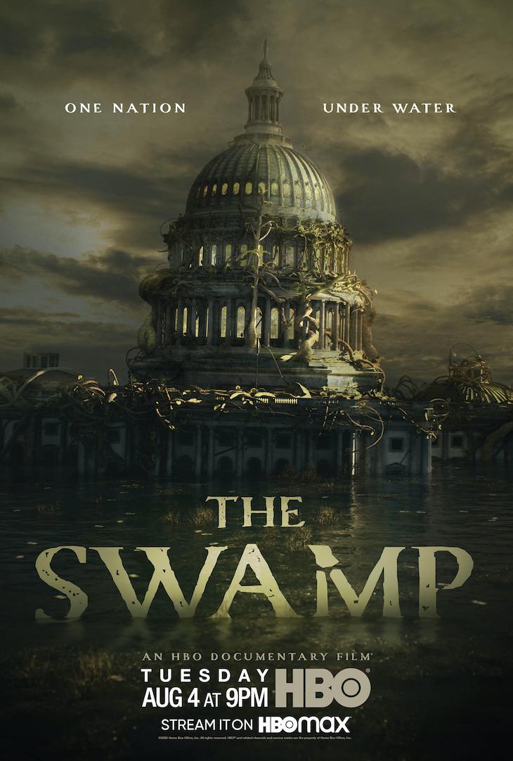 Key art for HBO's 'The Swamp'
