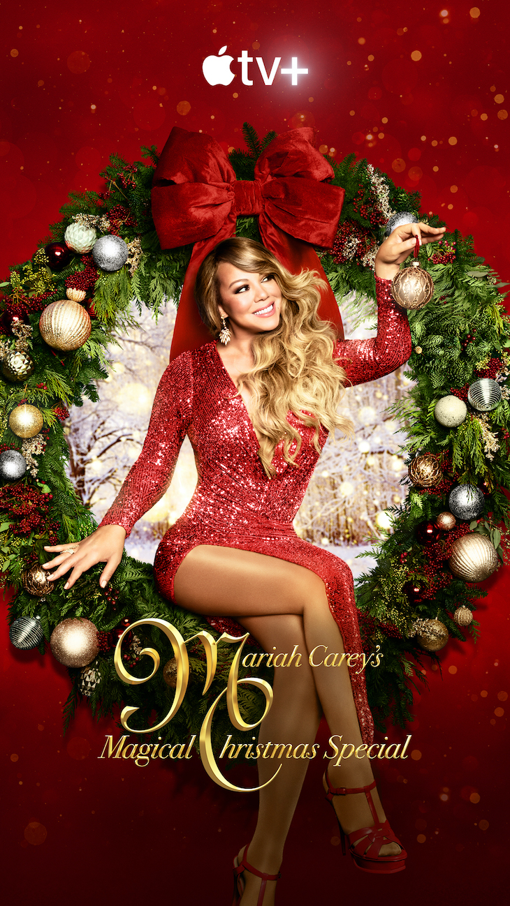 Key art for Apple TV+'s 'Mariah Carey's Magical Christmas Special'