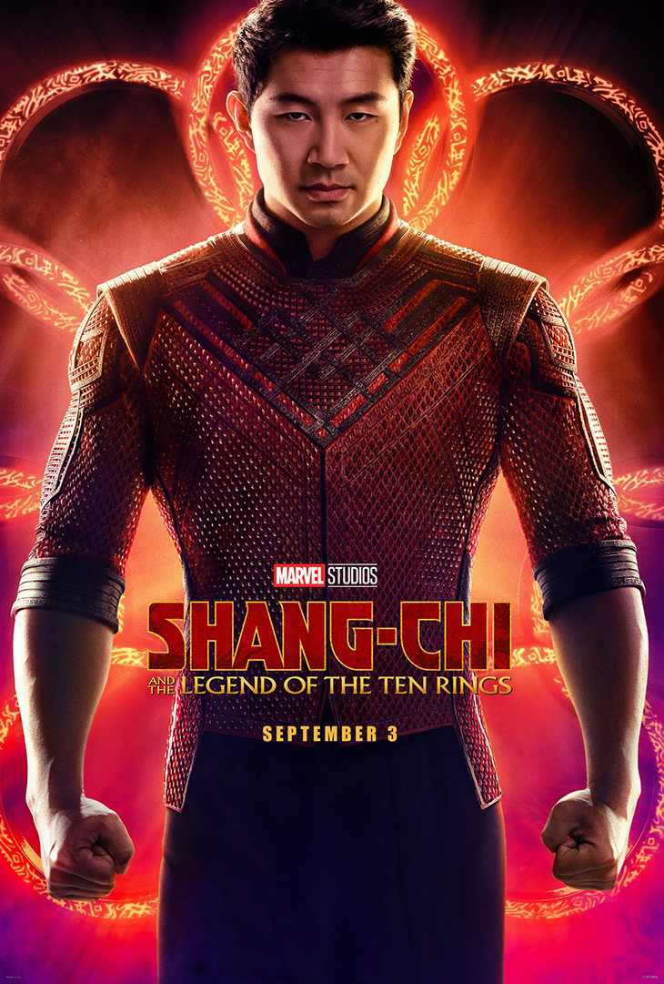 Poster for Marvel Studios' upcoming 'Shang-Chi and the Legend of the Ten Rings'