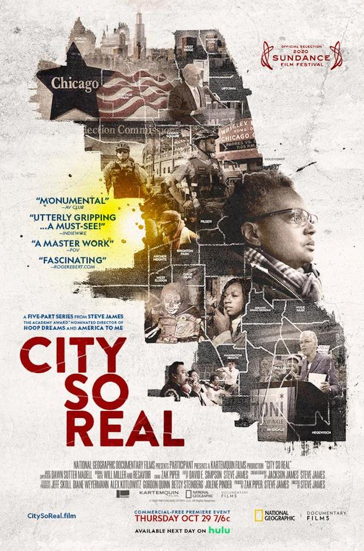 Key art for Nat Geo's 'City So Real'