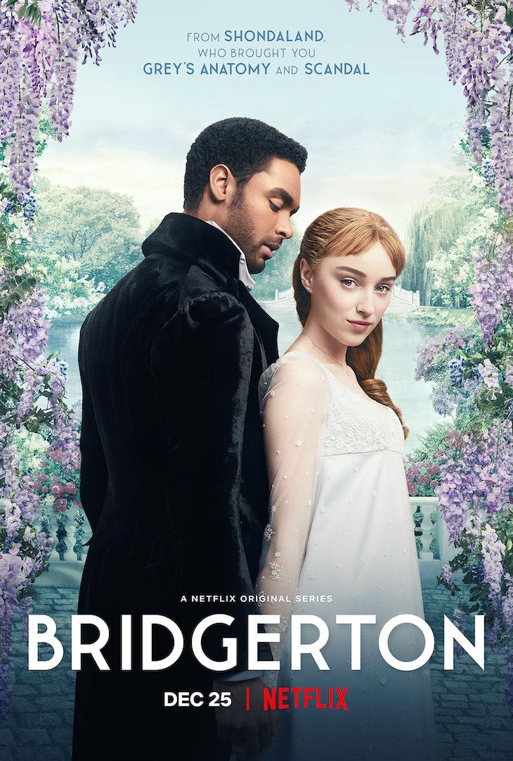 Key art for Netflix's 'Bridgerton'