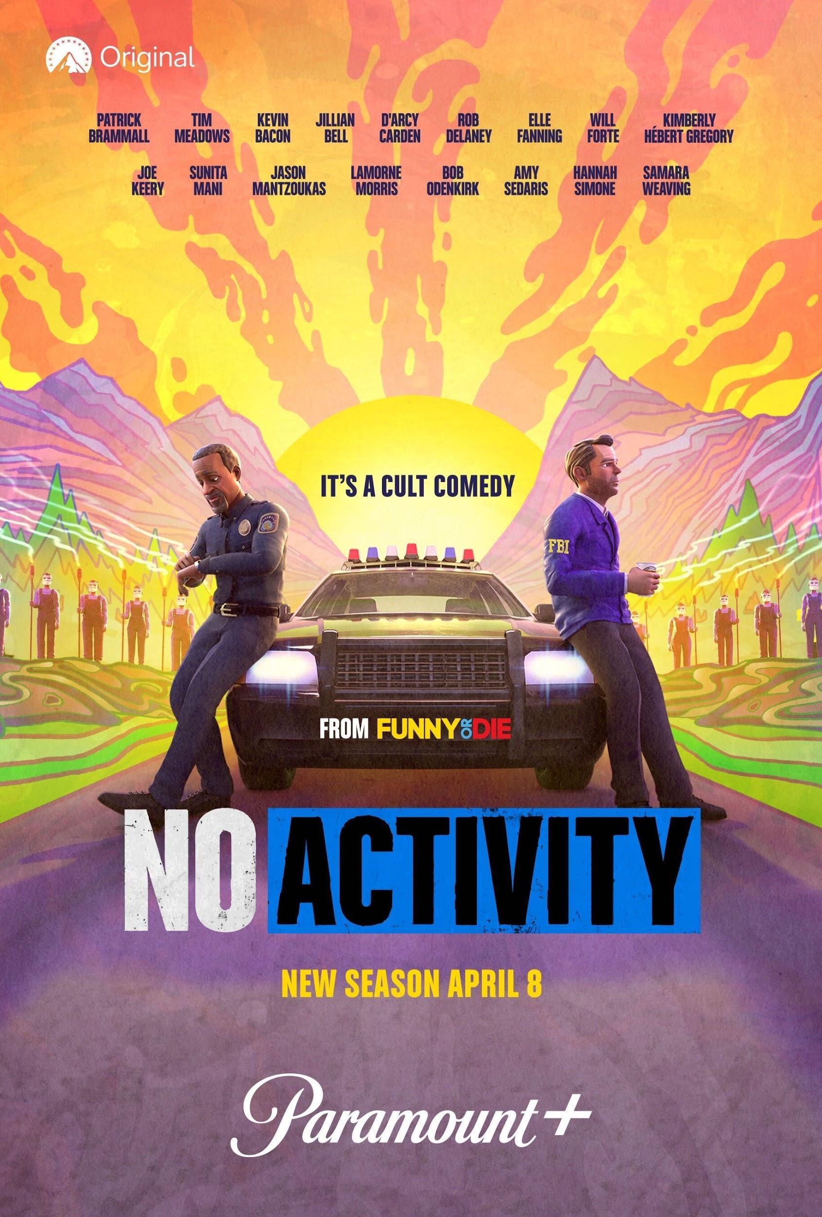 Key art for season four of Paramount+'s 'No Activity'