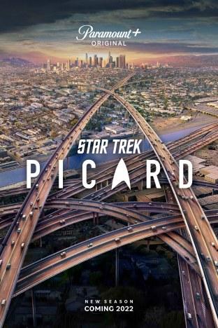 Key art for season two of Paramount+'s 'Star Trek: Picard'