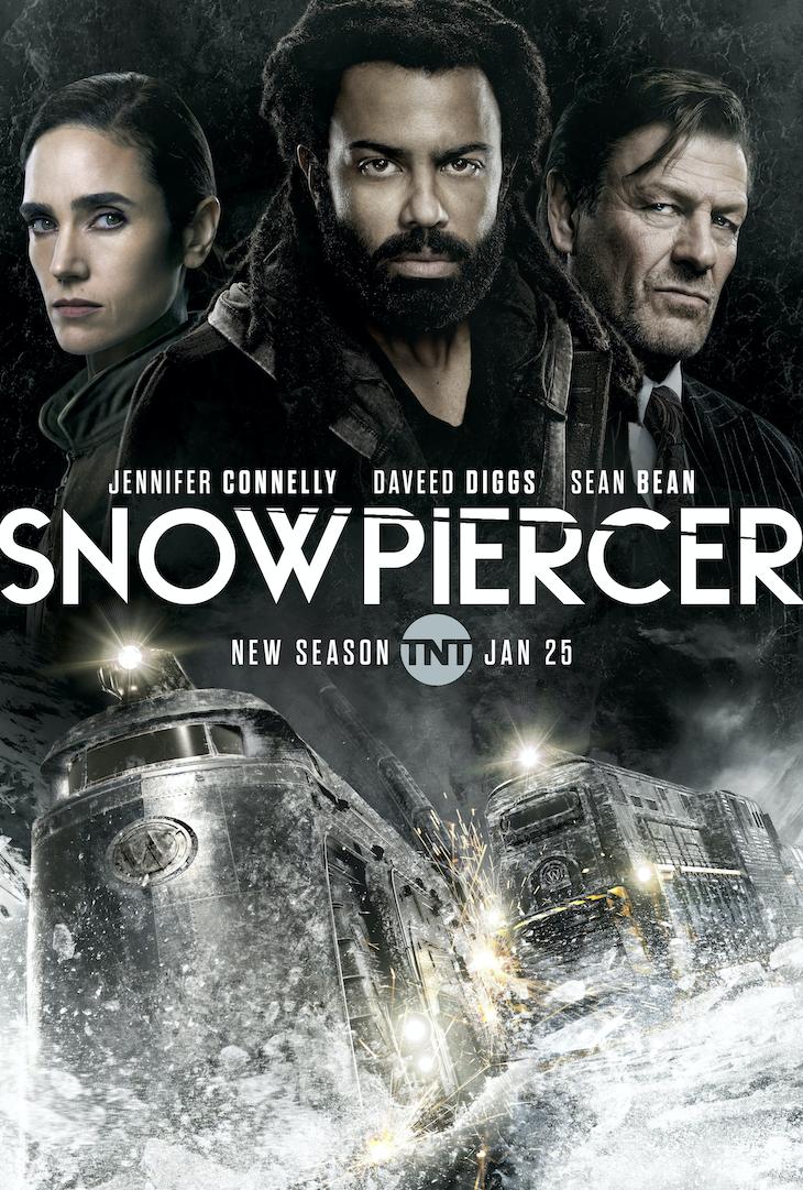 Key art for season 2 of TNT's 'Snowpiercer'