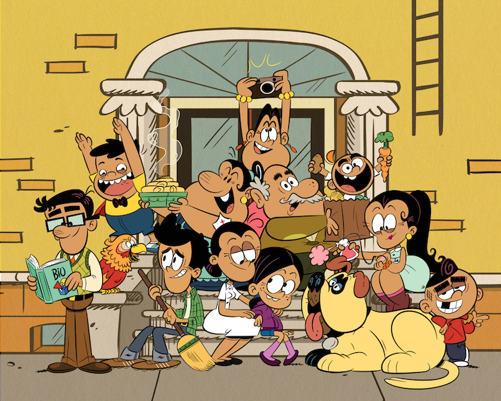 Nickelodeon's new 'Loud House' spin-off, 'Los Casagrandes'