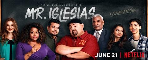 'Mr. Iglesias' key art. [Netflix]