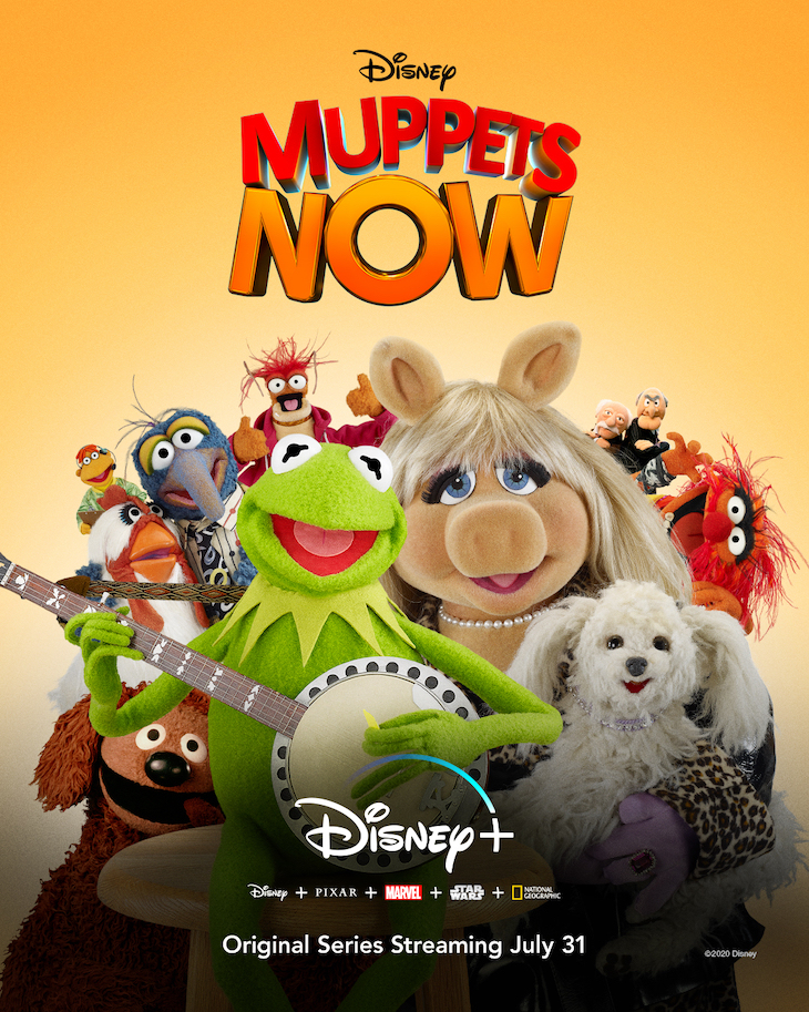 Ket art for Disney+'s 'Muppets Now'