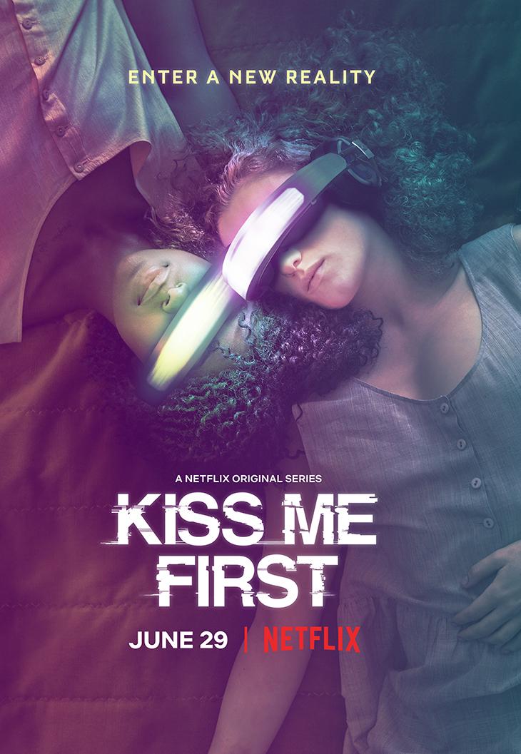 """Key art for Netflix's new YA drama, """"Kiss Me First"""""""