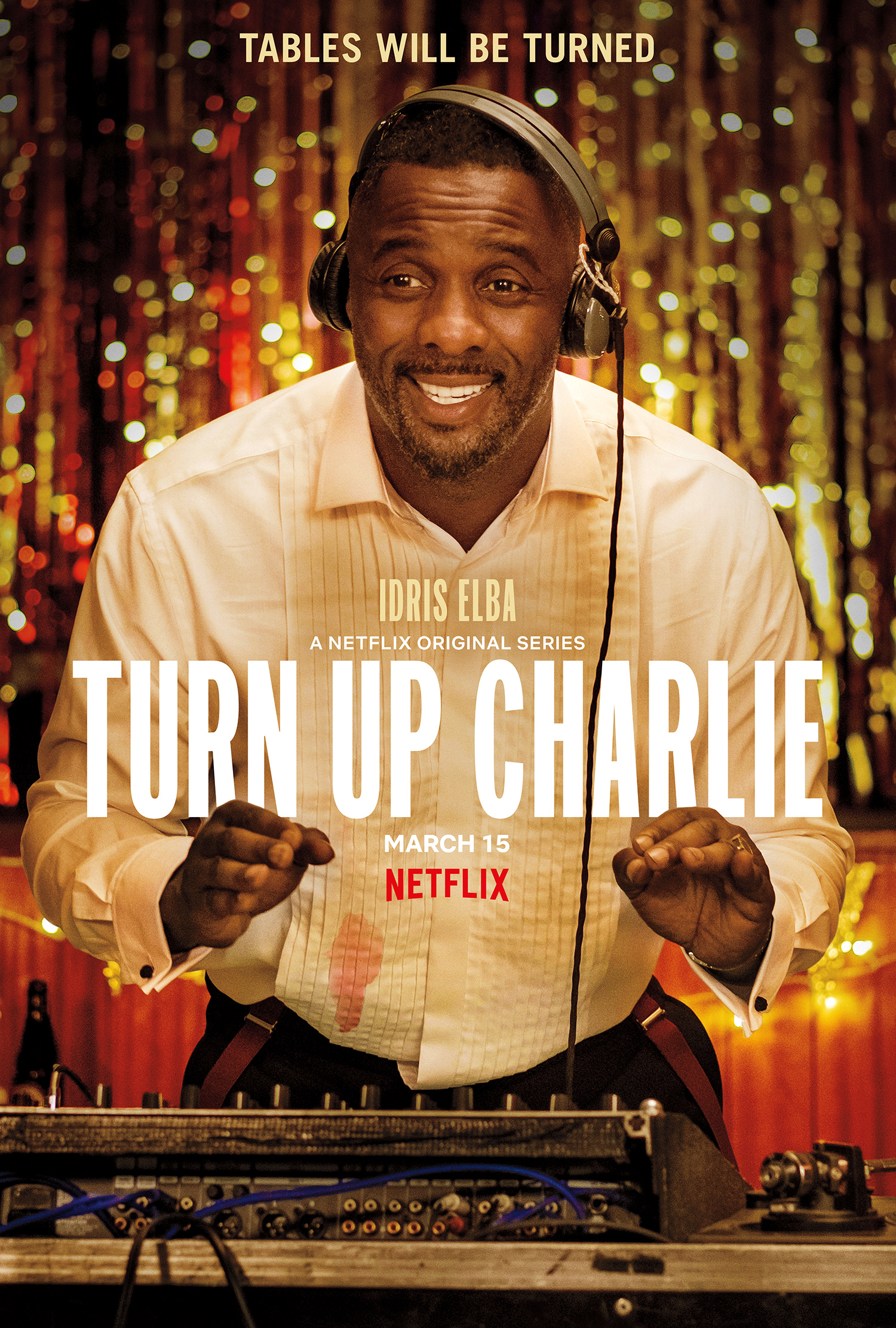 Turn Up Charlie key art [Netflix].