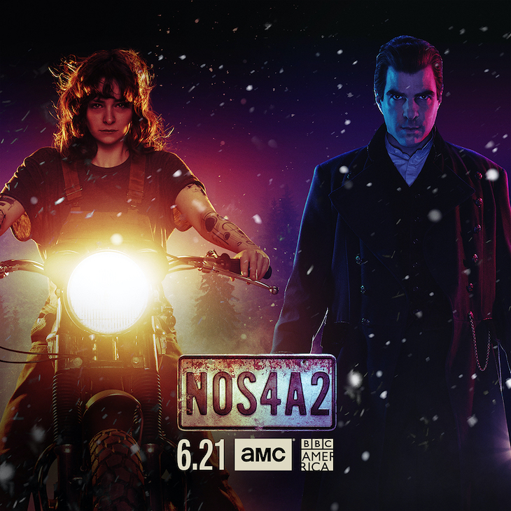 Key art for season two of AMC's 'NOS4A2'