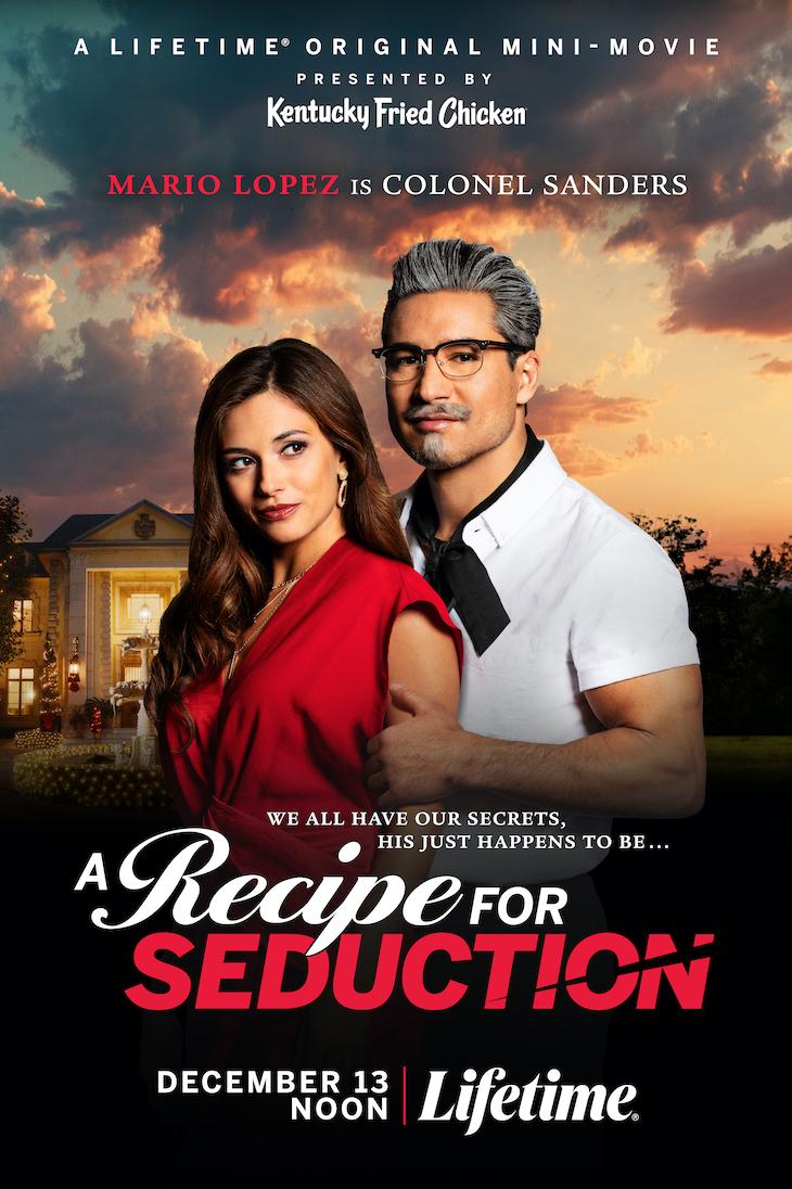 Poster for Lifetime/KFC mini-movie, 'A Recipe for Seduction'