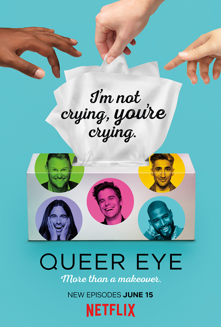 'Queer Eye for the Straight Guy' season two key art. [Netflix]