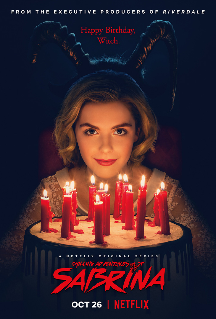 'Chilling Adventures of Sabrina' key art. [Netflix]