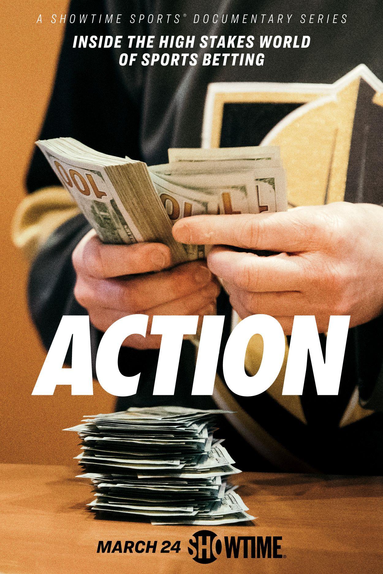 'Action' key art [Showtime].