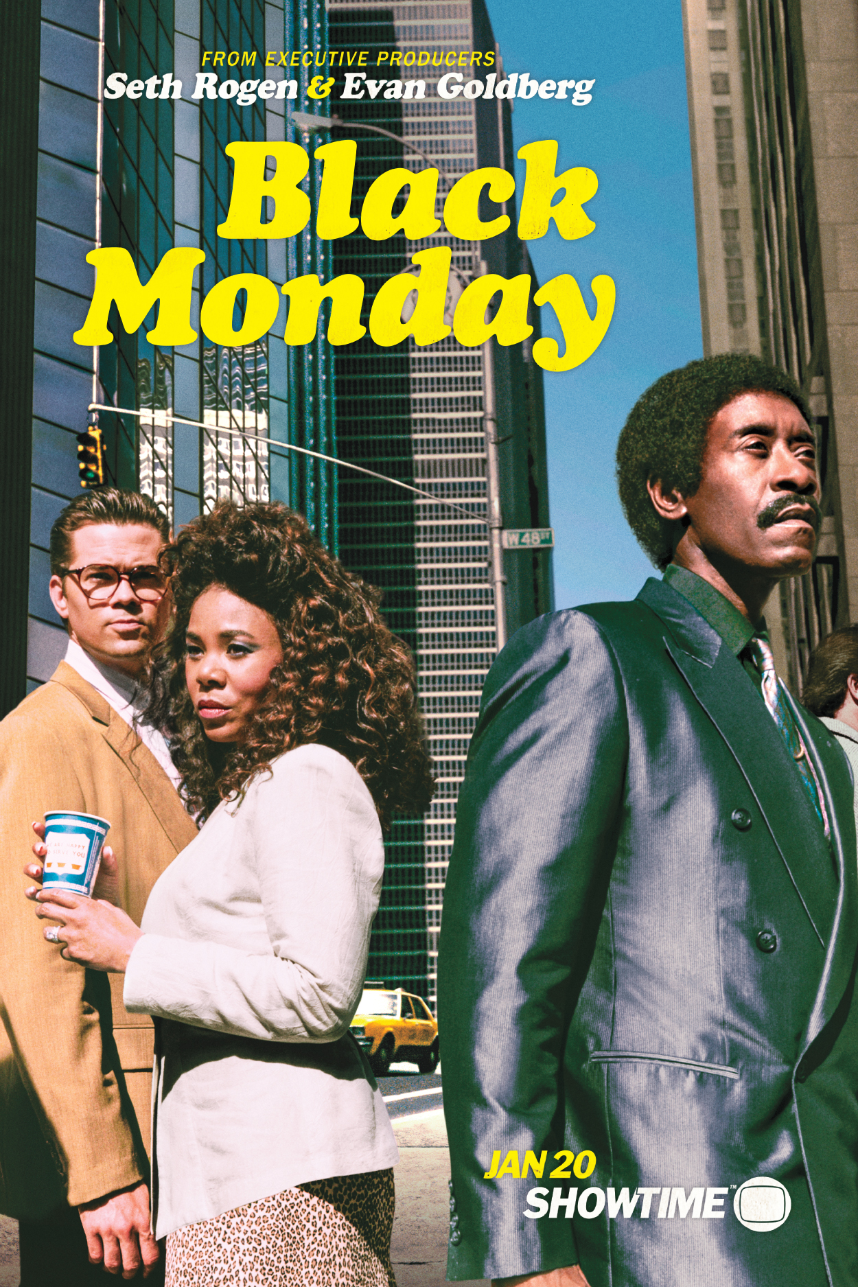 Key art for Showtime's new comedy 'Black Monday'