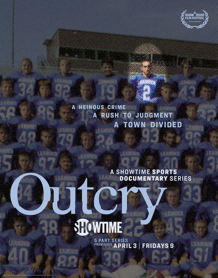 Poster for Showtime's Five-Part Docuseries 'Outcry'