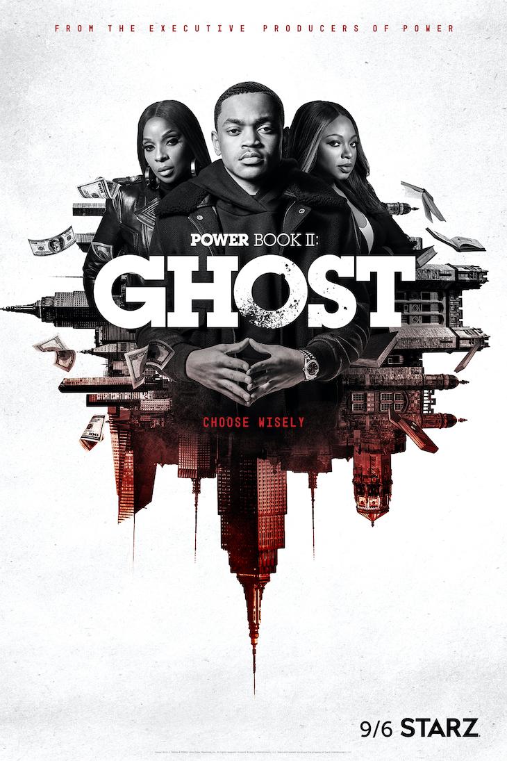 Key art for 'Starz' Power Book II: Ghost'