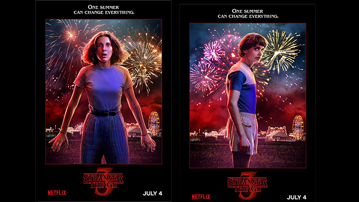 'Stranger Things' season 3 character posters. [Netflix]