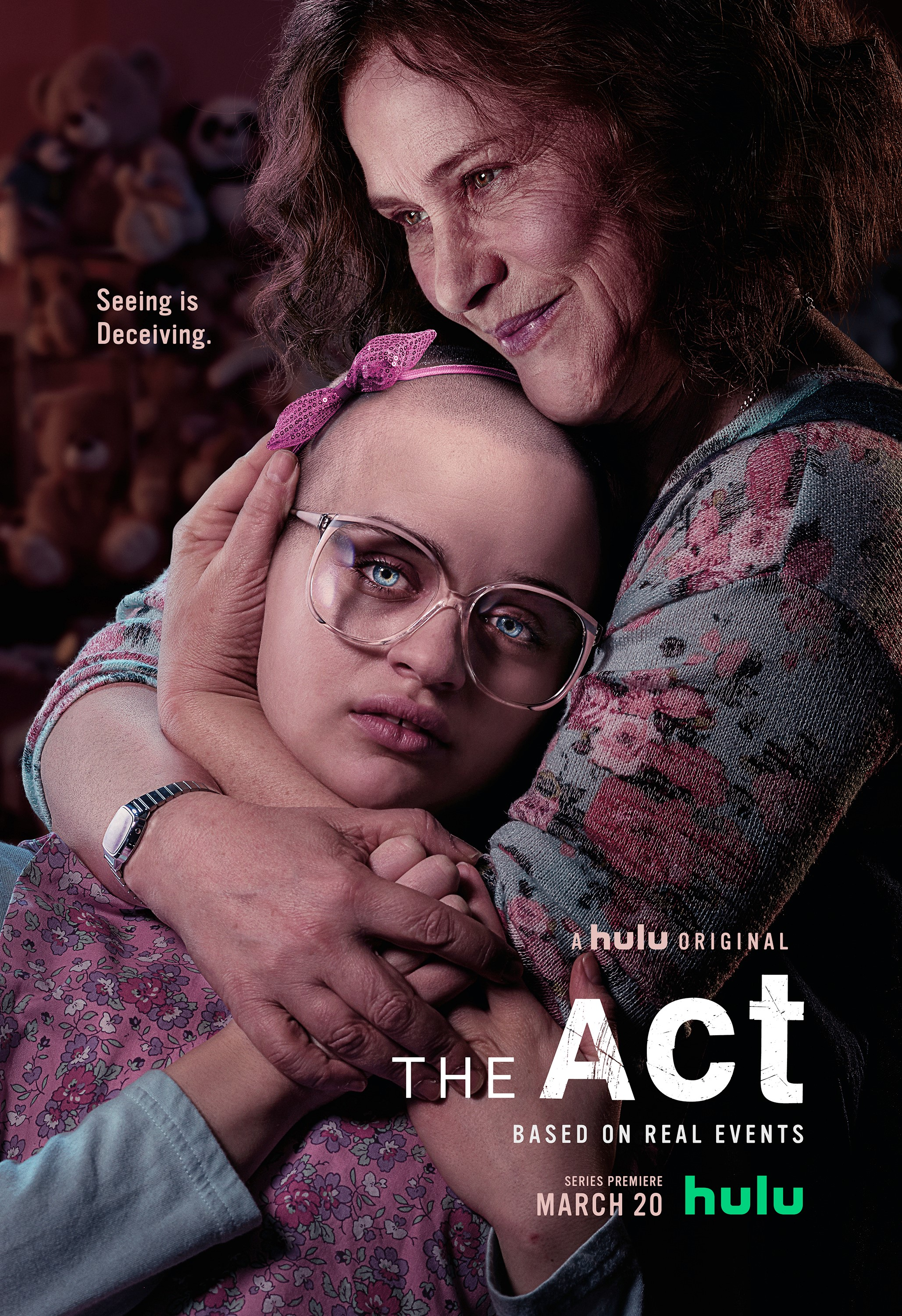 'The Act' key art [Hulu].