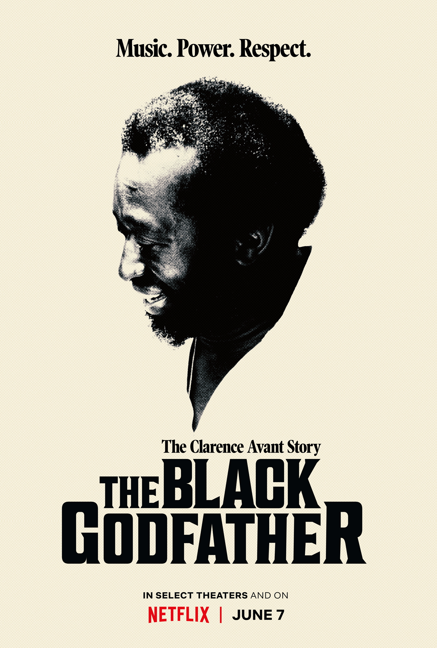 'The Black Godfather' key art. [Netflix]