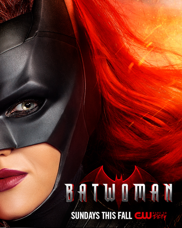 Key art for The CW's upcoming 'Batwoman' starring Ruby Rose