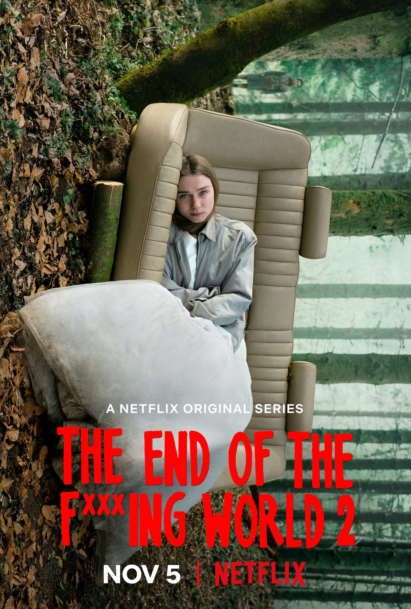 'The End of the F**king World' key art. [Netflix]