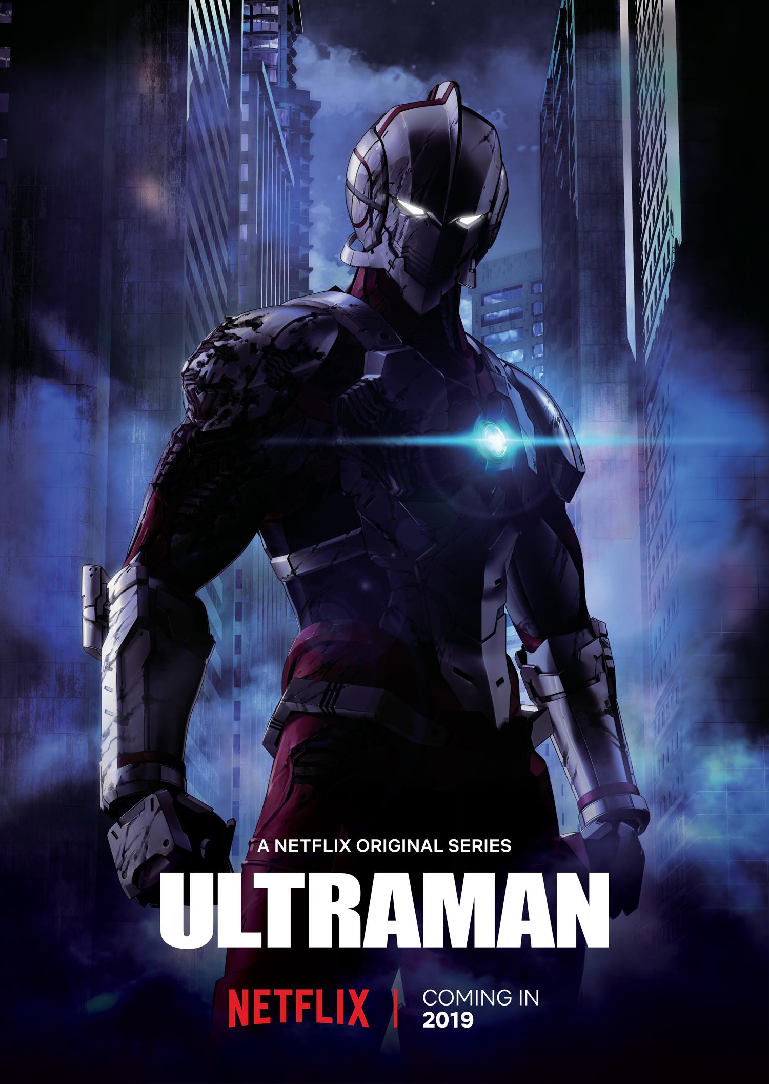 Key art for Netflix's upcoming anime series 'Ultraman'
