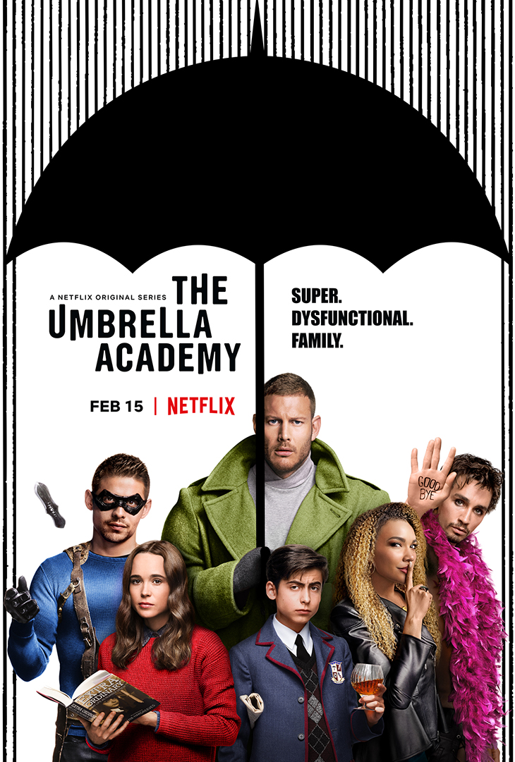 """""""The Umbrella Academy"""" key art. [Netflix]"""